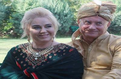Polish couple celebrates wedding reception in Kashmir Valley