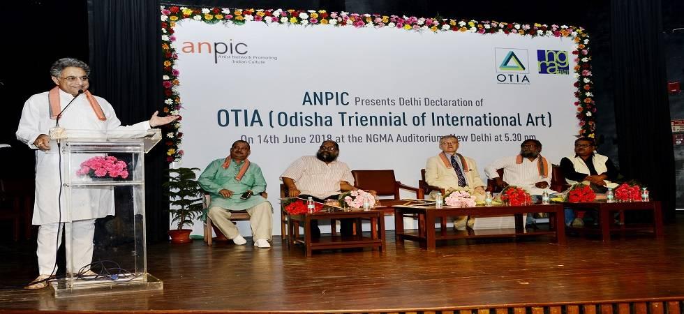 Odisha to host 40-day mega triennial in Dec-Jan Advertisement (Photo- Twitter)