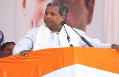 No plans to contest Lok Sabha polls: Siddaramaiah