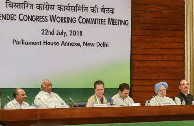 CWC meeting: Rahul Gandhi authorised to take decisions on alliances for 2019 elections