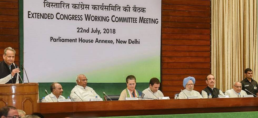 CWC meeting: Rahul Gandhi authorised to take decisions on alliances for 2019 elections (Photo Source: PTI)
