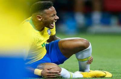 Neymar hits out at critics; says 'I went to the World Cup to play, not to get kicked'