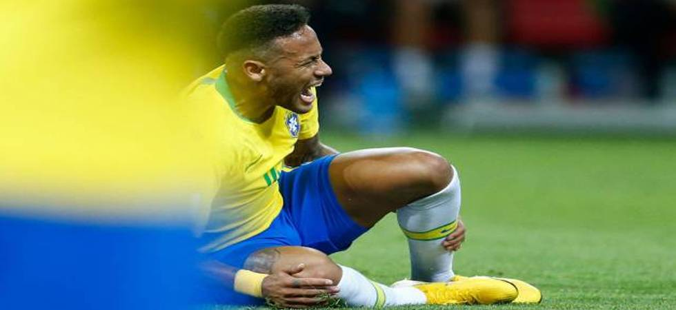 Neymar hits out at critics; says 'I went to the World Cup to play, not to get kicked' (Photo: Twitter)