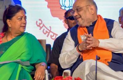 Vasundhara Raje to be BJP's chief ministerial candidate for Rajasthan Assembly Election