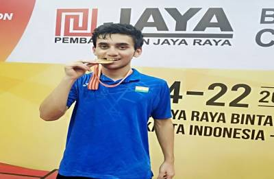 Lakshya clinches Asia Junior Championship title