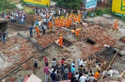 Ghaziabad Building Collapse: 2 dead; CM Adityanath orders probe