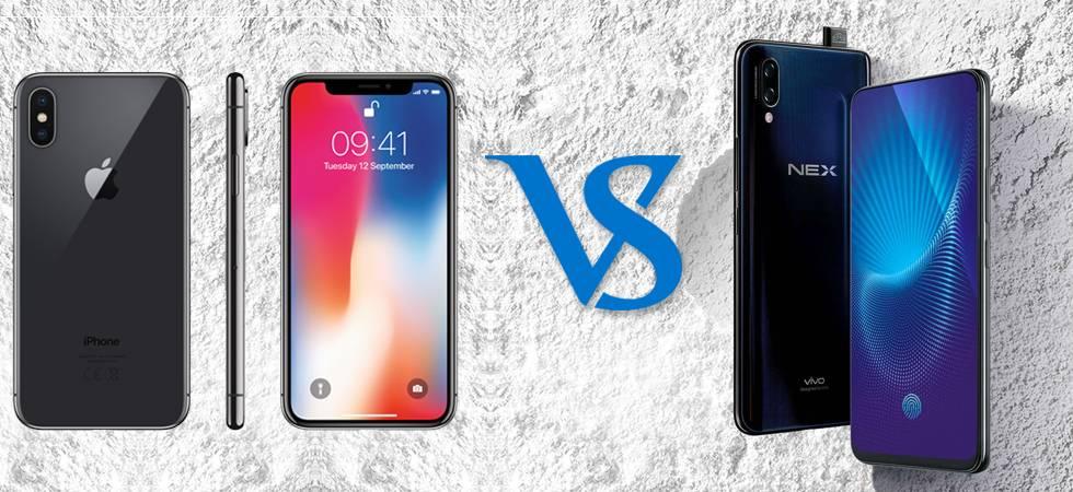iPhone X Notch vs Vivo NEX Full view display