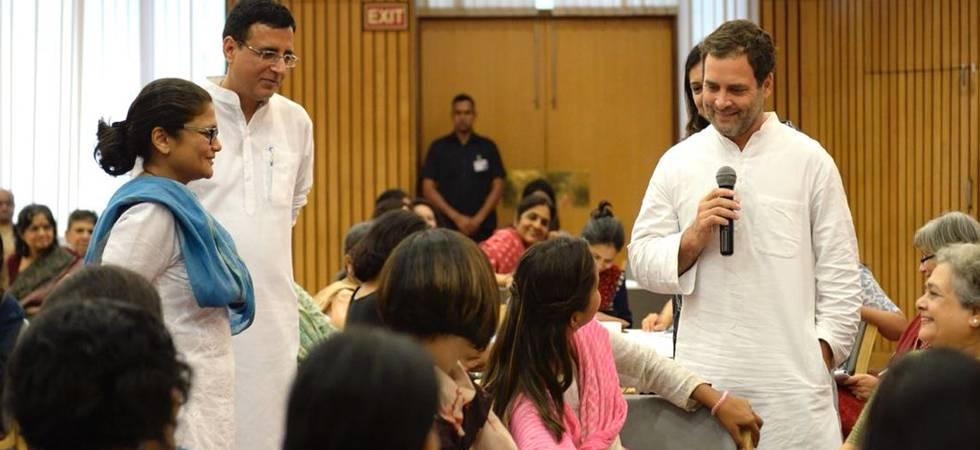 Mamata Banerjee or Mayawati as PM? Congress, Rahul Gandhi open to options (Photo: Congress Twitter)