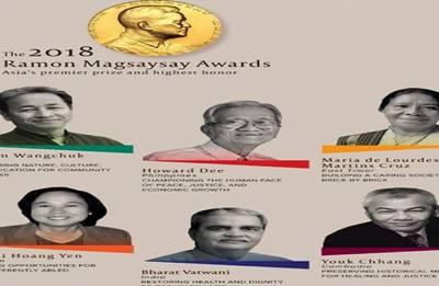 Two Indians among Ramon Magsaysay Award 2018 winners