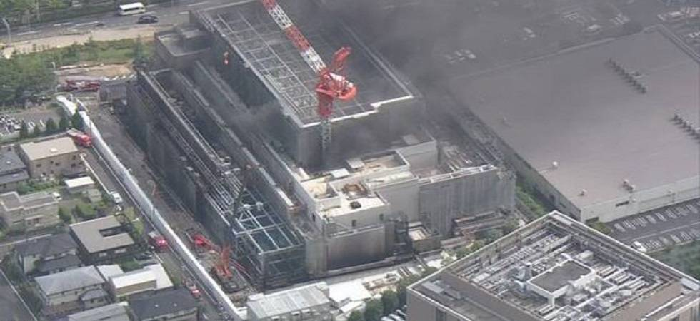 4 dead, dozens injured in fire at Tokyo construction site (Photo- Twitter)