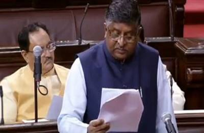 Parliament Monsoon Session: CBI to probe Cambridge Analytica data breach case, says RS Prasad