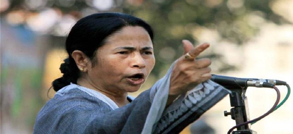 Mamata questions Centre on making Aadhaar compulsory for availing services (File Photo- PTI)