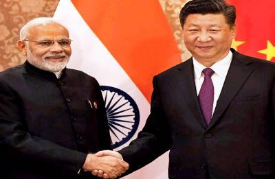 PM Modi meets Chinese President Xi Jinping on sidelines of BRICS Summit