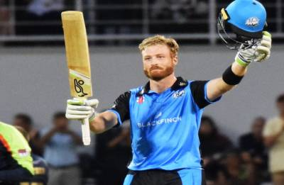 Martin Guptill blasts 35-ball century, scores joint-fourth fastest T20 ton