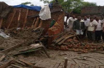 Saharanpur building collapse: Six of family killed as house falls