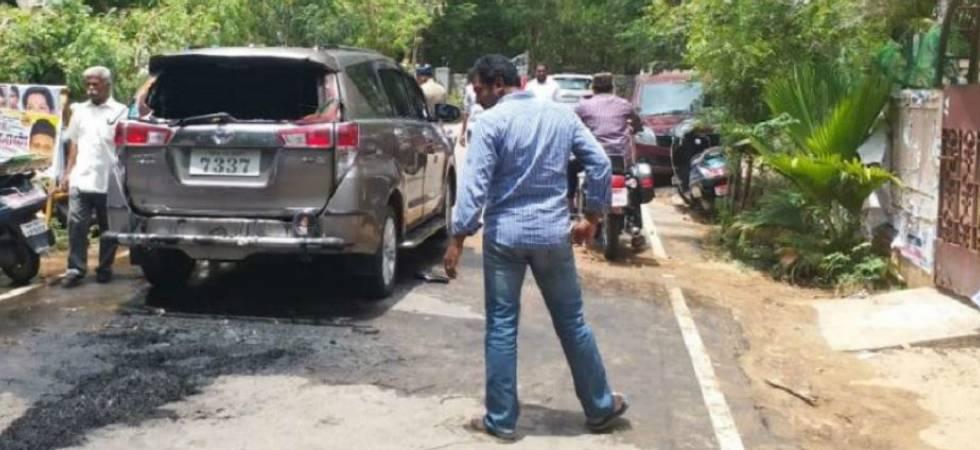 Petrol bomb hurled at TTV Dhinakaran's car in Chennai (File Photo)