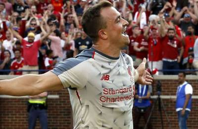 Liverpool vs Manchester United: Klopp's rampant reds bulldoze over Red Devils as Shaqiri scores stunner on debut