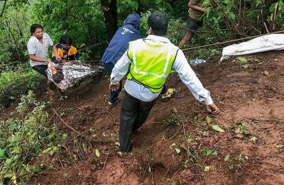 Maharashtra bus accident: NDRF rescues 30 bodies from the spot; search operation ends