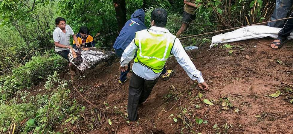 Maharashtra bus accident: NDRF rescues 25 bodies from the spot (Photo Source: PTI)