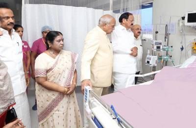DMK chief M Karunanidhi's vital signs normalising: Kauvery Hospital