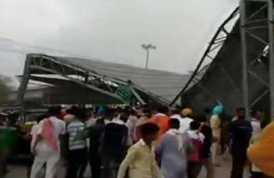 Tin shed collapse injures 15 in Rajasthan