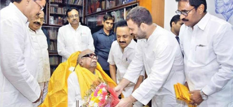 Rahul Gandhi to visit Karunanidhi at Chennai's Kauvery hospital today (File Photo)