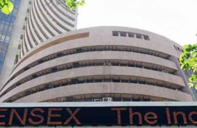 Sensex slips from record after RBI hikes rate; bank, auto stocks drag