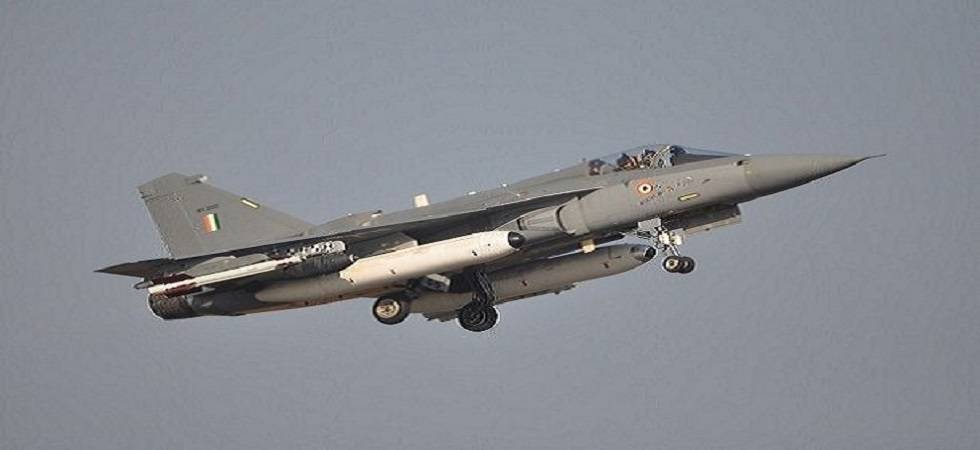 Naval version of Tejas undergoes successful tests (Photo- Twitter/Douglas Royce)
