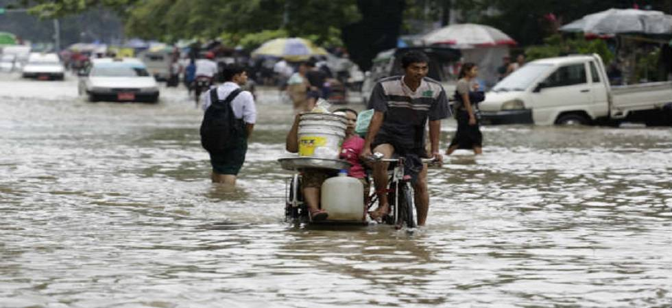 Fears grow as flooding displaces 150,000 in Myanmar (Photo- PTI)