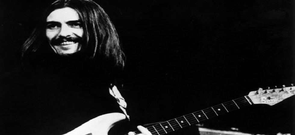 George Harrison's guitar expected to fetch up to 400, 000 pounds at auction (File Photo- PTI)