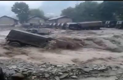 Arunachal Pradesh: Landslides destroy Army transit camp, cut off road links