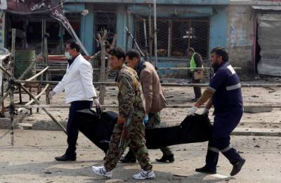 Suicide attack hits inside Shiite mosque in eastern Afghanistan; leaves dozens dead