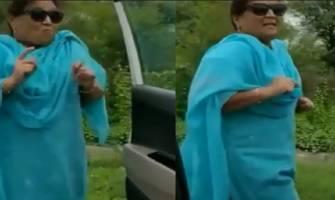 Gujarati aunty accepts viral 'Kiki Challenge', police issues warning