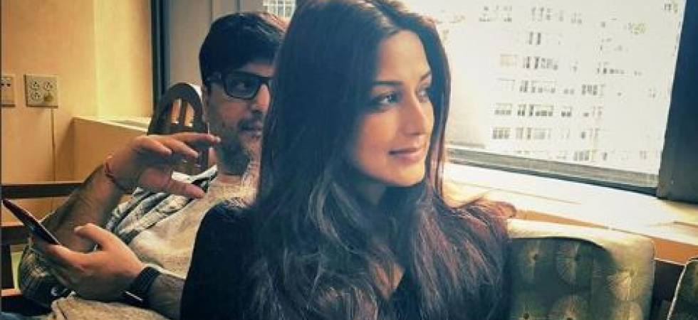 Sonali Bendre with husband Goldie Behl (Photo: Instagram/Sonali Bendre)