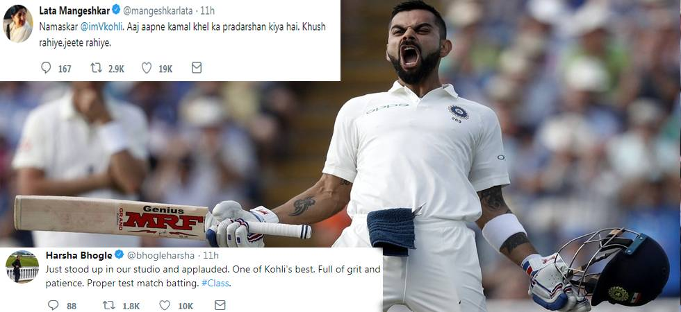 Twitter bows down to King Kohli after he smashes 22nd Test ton in England (Photo: Twitter)