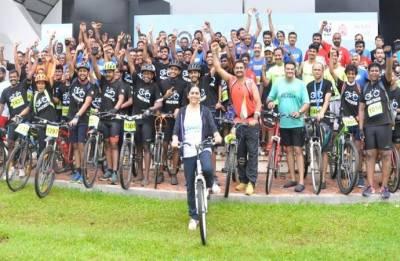 Kochiites take part in WWF India's Pedalathon