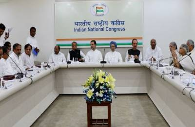 CWC Meet: Rahul Gandhi, other top leaders meet to plan strategy on NRC, Rafale deal