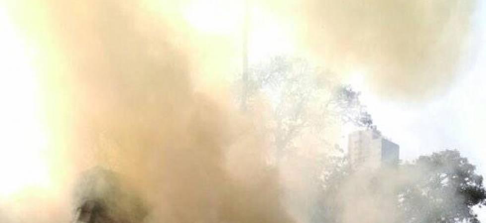 Fire at Mumbai RTO (Photo: Twitter)
