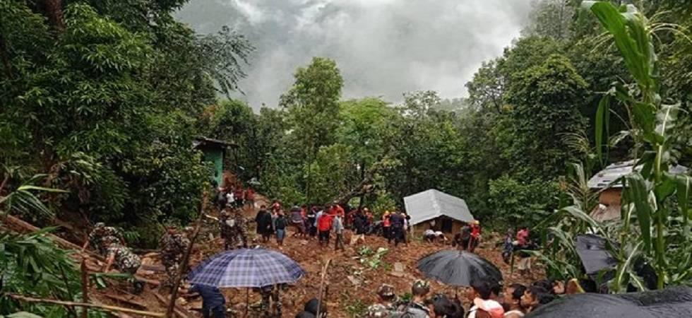 Landslide kills nine in Nepal (Photo- Twitter/@RepublicaNepal)
