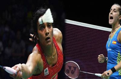BWF World Championships: Spain's Carolina Marin defeats PV Sindhu, bags third world title