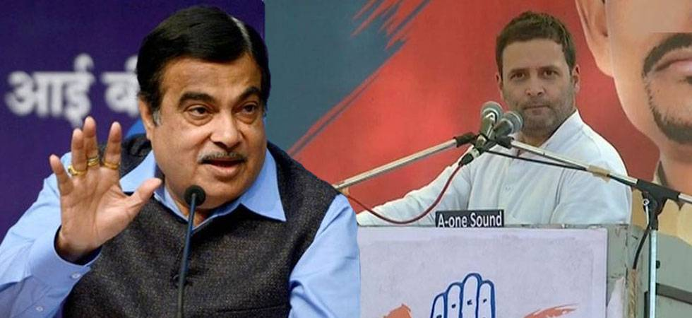 On Nitin Gadkari's 'where are the jobs' remark, Rahul Gandhi's bouncer (Photo:PTI/ANI)
