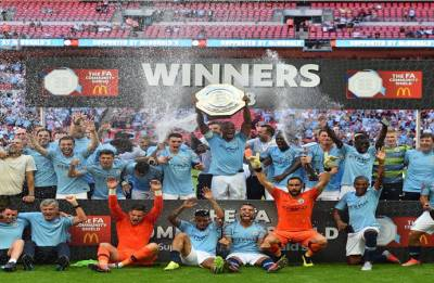 Aguero back on scoresheet as Manchester City defeat Chelsea 2-0 to lift Community Shield