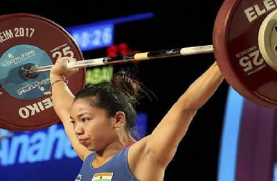 Asian Games 2018: Mirabai Chanu pulled out