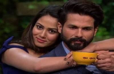 Watch: Shahid Kapoor stunned with Mira Rajput's acting debut