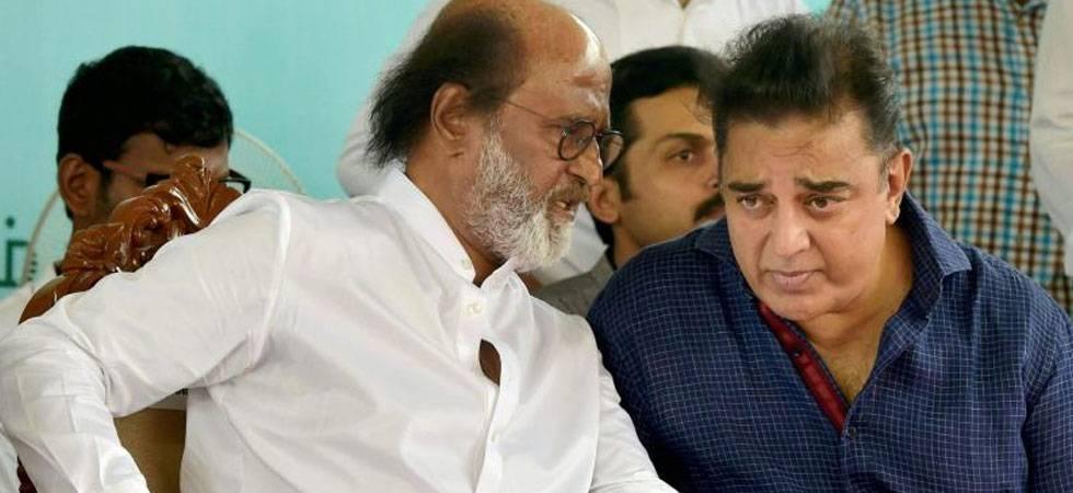 Why Rajnikanth and Kamal Haasan can't replace Karunanidhi? (File Photo)