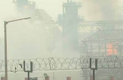 45 injured in fire at Bharat Petroleum Corporation refinery in Mumbai