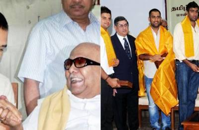 'Kalaignar' Karunanidhi had special connection with MS Dhoni, Chennai Super Kings and Cricket