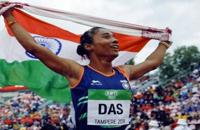 Hima Das signs up with sports management firm