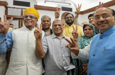 Rajya Sabha Vote: Harivansh Narayan Singh is new RS Deputy Chairman