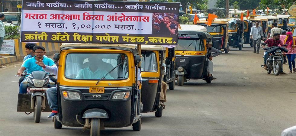 Violence, arson marks Maratha quota bandh in Maharashtra (Photo- PTI)